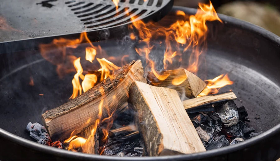 Firepit and the Ultimate Pipers Farm BBQ Bundle