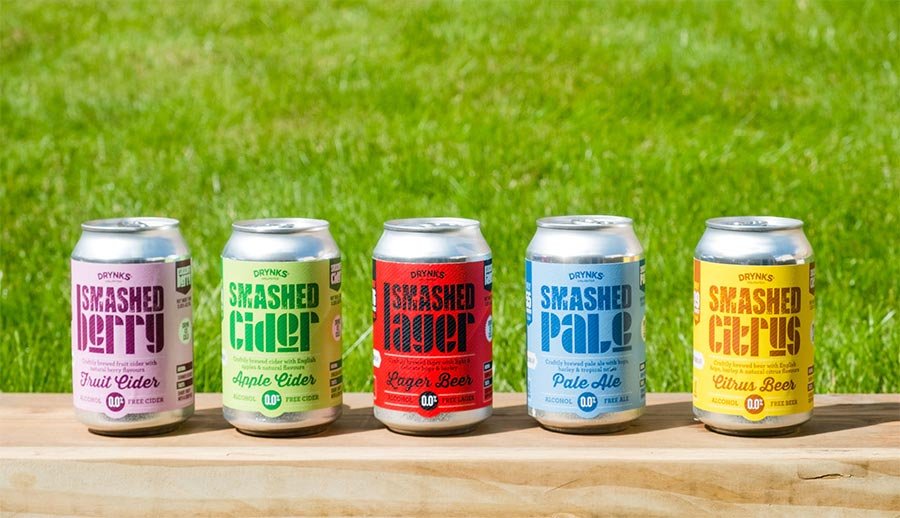 SMASHED Alcohol-free Beers And Ciders