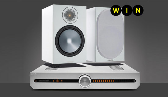 Hi-fi System From Roksan and Monitor Audio