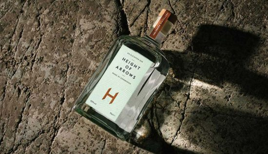 Bottle Of Height Of Arrows Gin