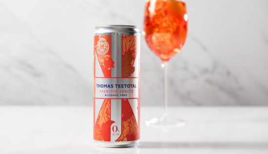 Gift Box Of Thomas Teetotal Cans
